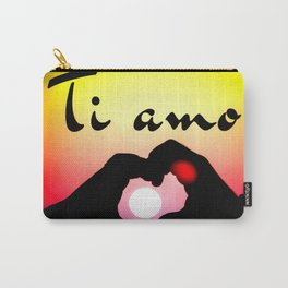 Ti amo in popart Carry-All Pouch