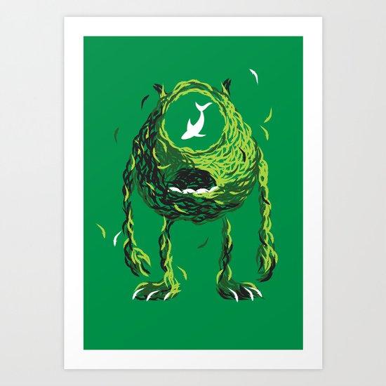 Wazowski of Fish Art Print