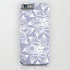 Pale flower pattern iPhone 6s Slim Case