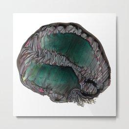 Diatomic Heart Metal Print