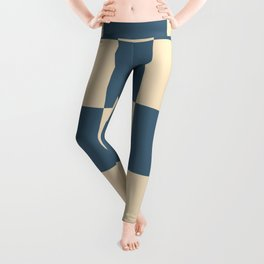 Liberty Lamiak - Checker Pattern Leggings