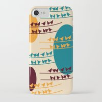 birdy iPhone & iPod Cases featuring birdy by BruxaMagica_susycosta