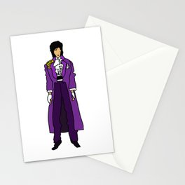 Ultraviolet Purple One 5 Stationery Cards