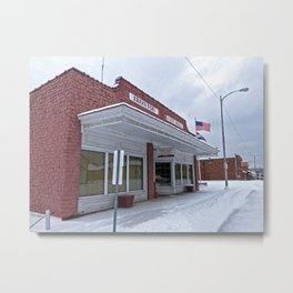 City Hall - Ironton, Missouri Metal Print