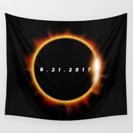 Total Solar Eclipse August 21 2017 Wall Tapestry