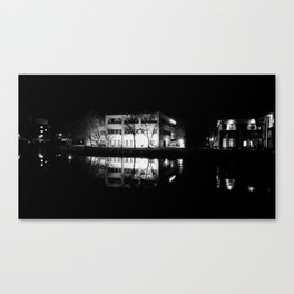 Night Time Reflections Canvas Print
