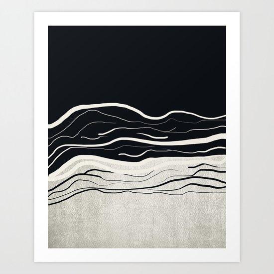 Minimal collection 02 Art Print