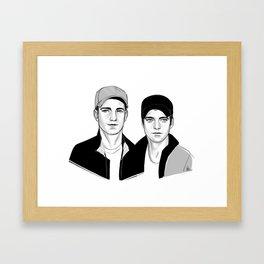 capped Framed Art Print