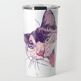 Wassup Calico Kitty! Travel Mug