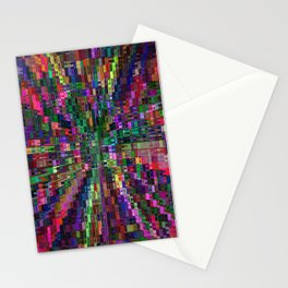 Chains Of Color Illuision Stationery Cards
