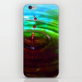 Red Threesome iPhone Skin