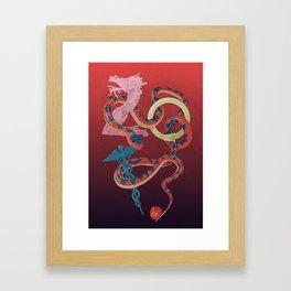 """""""Year of the Snake"""" Framed Art Print"""