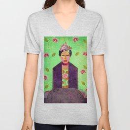 Frida Kahlo´s Dreams Unisex V-Neck