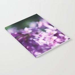 Lilacs close up Notebook