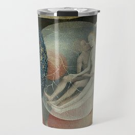 THE GARDEN OF EARTHLY DELIGHTS (detail) - HIERONYMUS BOSCH Travel Mug