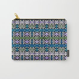 Ethnic striped pattern. Carry-All Pouch