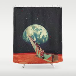 Sci Fi Shower Curtains