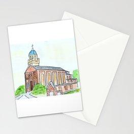 University of Dayton watercolor, UD Chapel, Dayton, OH Stationery Cards
