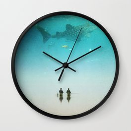 The Wrong Direction Wall Clock