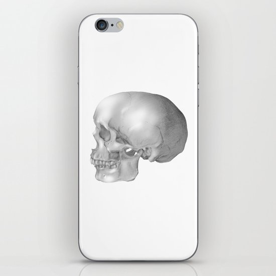 Human Skull iPhone & iPod Skin