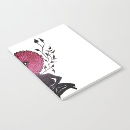 Divine Flower Woman Notebook