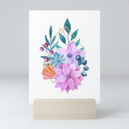 Floral Garden Mini Art Print