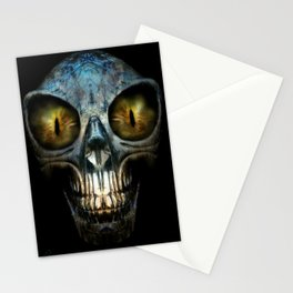 ALIEN NIGHTMARE Stationery Cards
