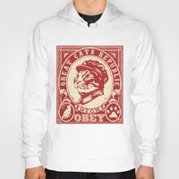 obey Hoodies featuring OBEY by solomnikov