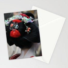Geisha Maiko Photograph Stationery Cards