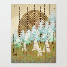 native summer Canvas Print