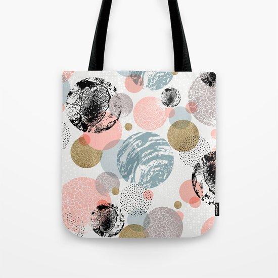 Circles texture Tote Bag