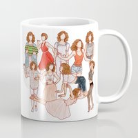 dirty dancing Mugs featuring Dirty Dancing - New version by Naineuh