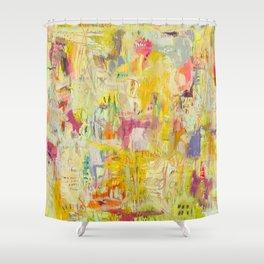 Raw Shower Curtain