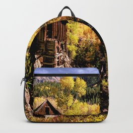 Colorado Autumn at Crystal Mill Backpack