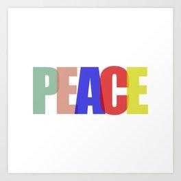 Peace (Color) Art Print