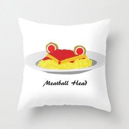 Sailor moon meatball head Throw Pillow
