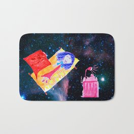 Τhe Universe is our Ηome | Kids Room up to the Space | Cosmos Bath Mat