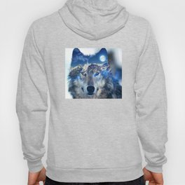 Mountain Wolf Hoody