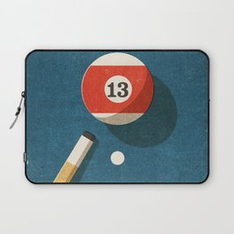 BILLIARDS / Ball 13 Laptop Sleeve