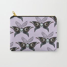 Moth Moon Carry-All Pouch