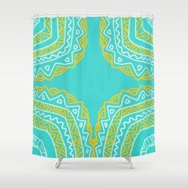 Caribbean Surf and Sun Shower Curtain