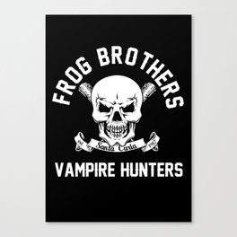 Frog Brothers Canvas Print