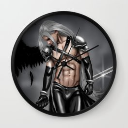 Sephiroth: One Winged Beauty  Wall Clock