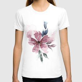 Modern Watercolor Florals No. 5 T-shirt
