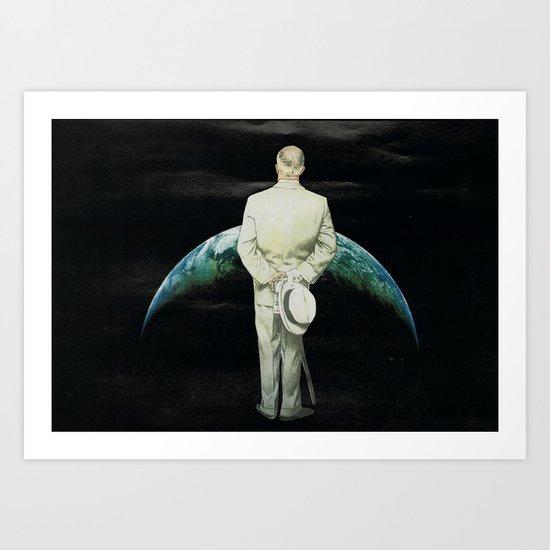 your moon Art Print
