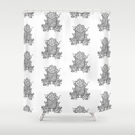 Pomme Frites Shower Curtain