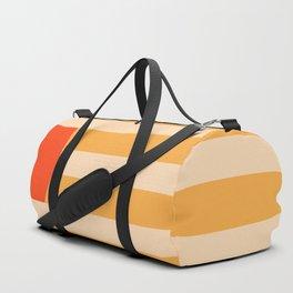 GEOMETRY ORANGE I Duffle Bag