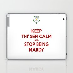 Keep Thi Sen Calm And Stop Being Mardy Laptop & iPad Skin