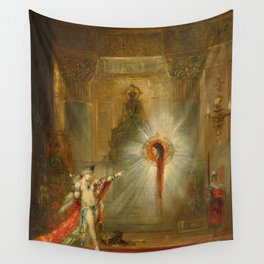 "Gustave Moreau ""The Apparition"" (1876-1877) Wall Tapestry"