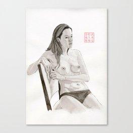 Figure Study Number 3 Canvas Print